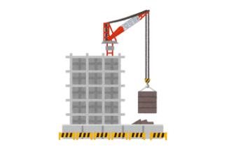 用途「建設現場イメージ図」