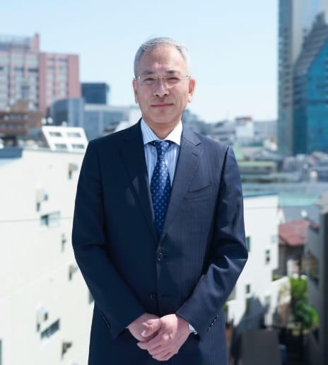 取締役社長岩﨑佳之の写真