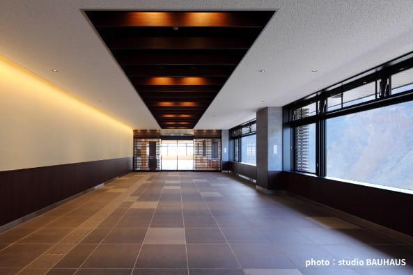 箱根ロープウェイ大涌谷駅舎建替え設計・監理の写真