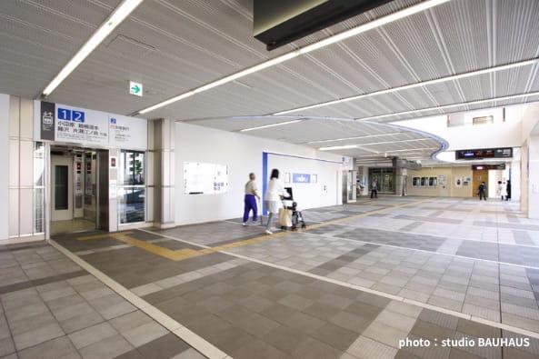 小田急線新百合ヶ丘駅舎改修設計・監理の写真
