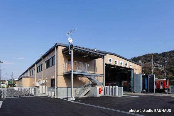 箱根登山鉄道入生田車両基地改良設計・監理の写真
