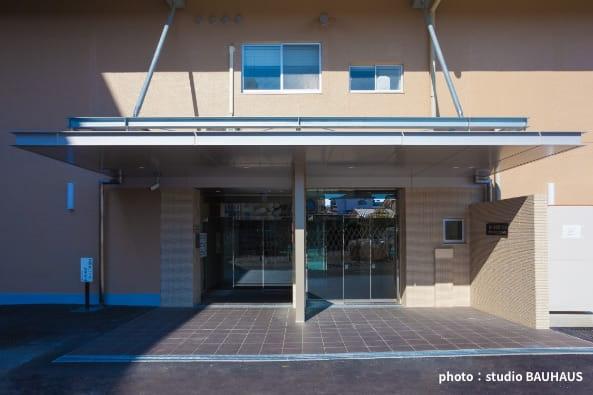 立川バスTBK高松第1・第2ビル耐震診断・改修設計・監理の写真