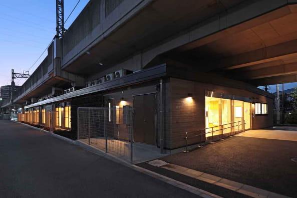 狛江高架下施設(保育園)新築設計・監理の写真