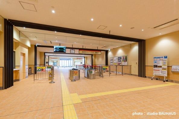 箱根登山鉄道早雲山駅舎改築設計・監理の写真