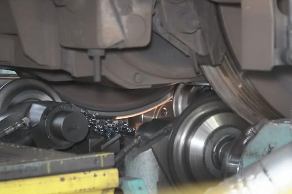 車両整備の写真